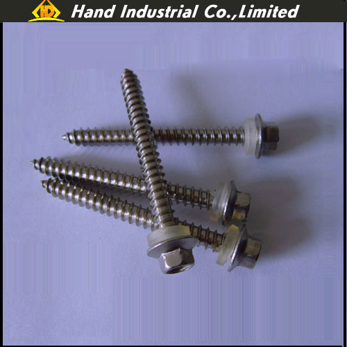 <b>Stainless Steel Hex Wafer Head Tapping Screw</b>